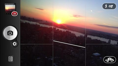 camera+HorizonLevel Camera+ per iOS si aggiorna ed introduce il flash frontale