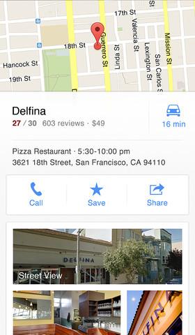a320x480 75 Le mappe di Google tornano su iOS, con una app dedicata