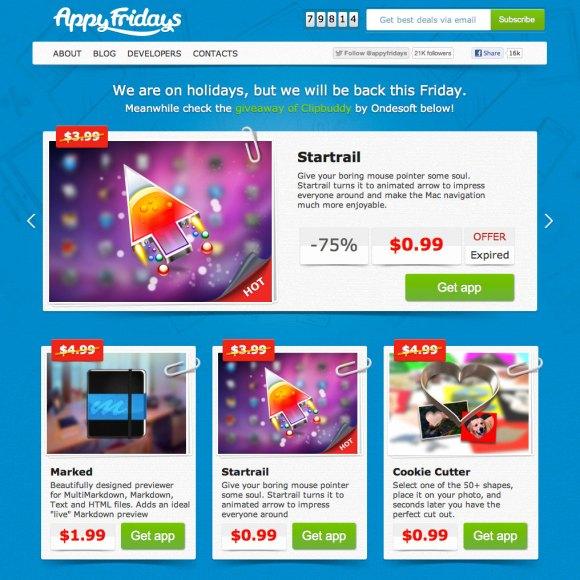 appyfridays 580x580 AppyFridays.com seleziona le migliori app per Mac e le fa scontare al prezzo più basso possibile
