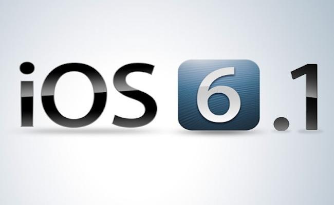 iOS 6.1 Rilasciato iOS 6.1 con supporto alle reti LTE