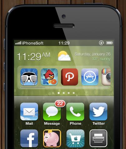 ios 7 concept iphonesoft medhi zoom 1 iOS 7: Ecco come sarà secondo iPhoneSoft