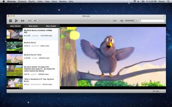 minitube 580x362 Dal 25 al 27 gennaio: FineReader Express per Mac a metà prezzo, Magic Mind e MiniTube scontatissime