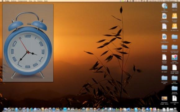 myOldAlarmClock mac 580x362 myOldAlarmClock, una sveglia vecchio stile per Mac e iPhone
