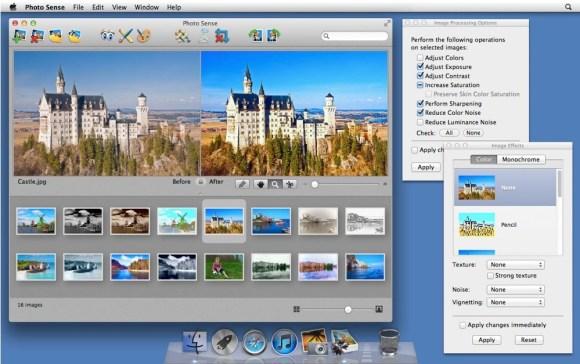 photosense1 580x364 Photo Sense, migliora e applica effetti alle tue foto automaticamente