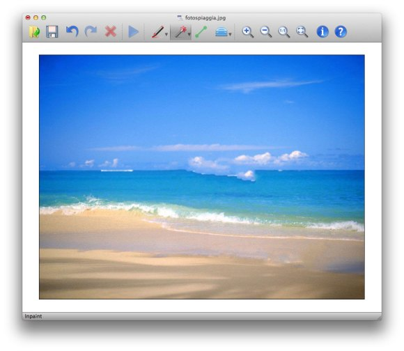 inpaint 5 580x504 Inpaint per Mac, rimuove qualsiasi elemento e oggetto dalle foto con un click