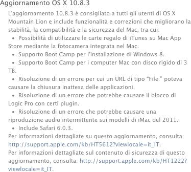 OS X10.8.3 screenshot Rilasciato OS X 10.8.3 Mountain Lion con Safari 6.0.3