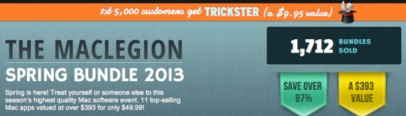 maclegion2 580x166 Ultimo Giorno * MacLegion, bundle per Mac con 10 app del valore di $393 scontate a $49,99
