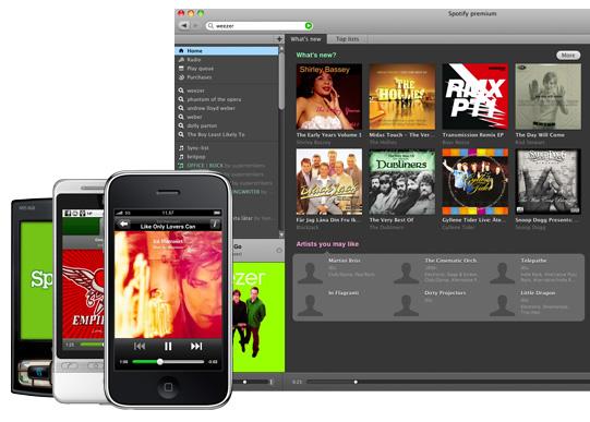 spotify client and phones Spotify: Arrivano in tv i nuovi spot pubblicitari