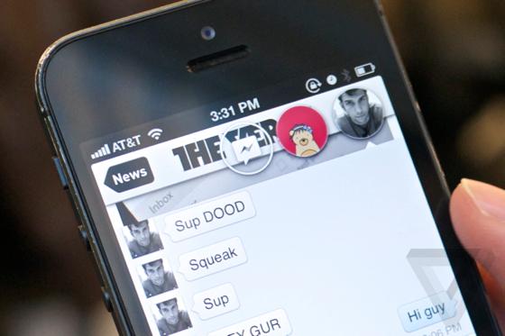 chat head The Verge Chat Heads di Facebook in primo piano su iOS? Presto realtà grazie ad un Tweak di Cydia