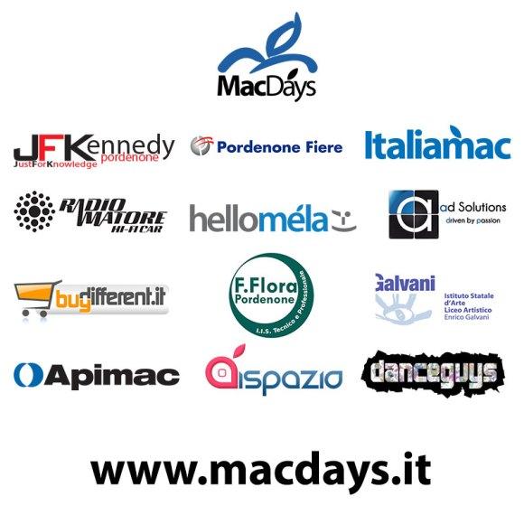 partners mac days 580x580 MacDays 2013: incontriamoci fra utenti Apple e Mac il 27/28 Aprile in Fiera a Pordenone