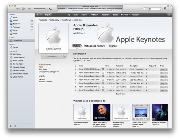 Apple Keynote Podcast