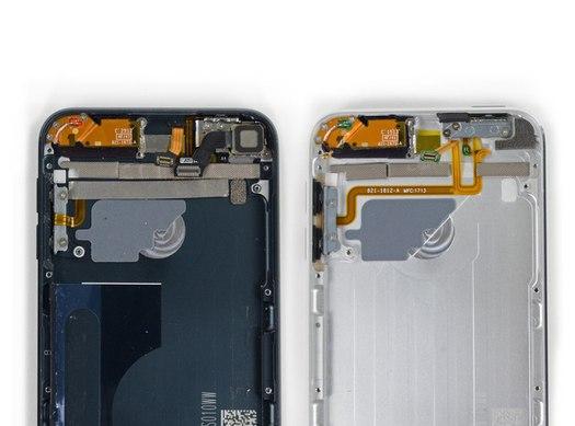 Confronto tra iPod Touch 5h 16GB e 32GB realizzato da iFixit