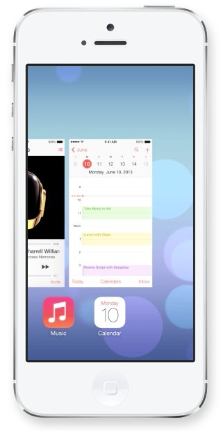 Multitasking in iOS 7 Apple presenta iOS 7, una carrellata delle novità più importanti