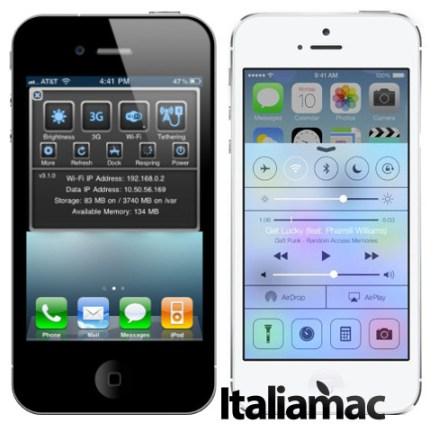 Sbsetting vs Control Center di iOS 7 Quali sono i tweak e le applicazioni che andranno in pensione con iOS 7?