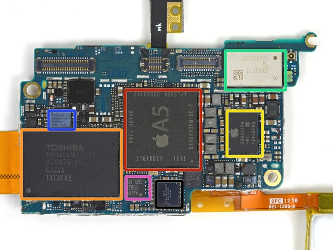 Teardown del nuovo iPod Touch 16GB di iFixit