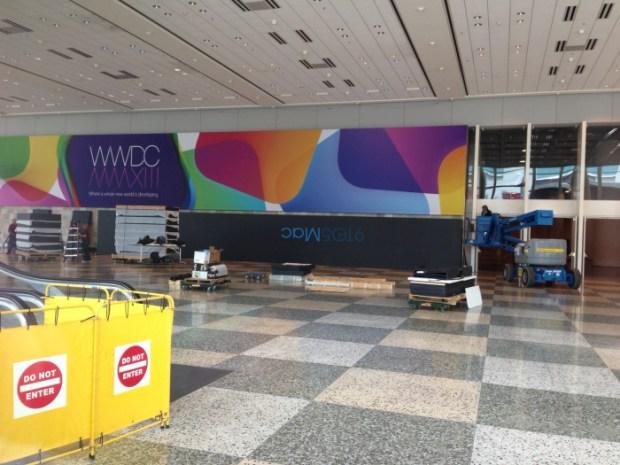 %name Il Moscone Center si prepara per il WWDC 2013