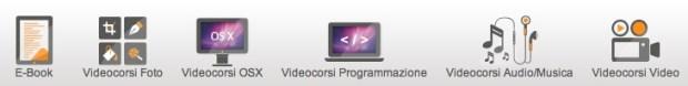 corsi bar 620x78 Settimana della Mac Formazione su BuyDifferent:  30% su videocorsi ed e book