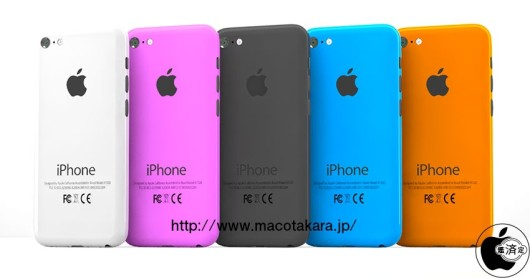 iPhone colorati Nuovi rumor sui prossimi iPhone Mega, iPhablet, iPhone 5s/6 e iPhone low cost