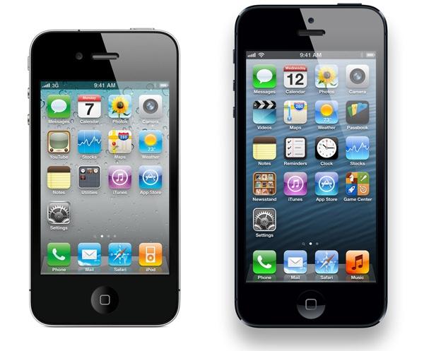 iphone 4 e iphone5