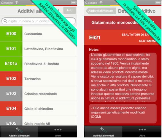 additivi alimentari iphone Additivi Alimentari per iPhone è su App Store
