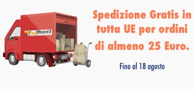 sped gratis ago home 620x285 BuyDifferent: Aperti per ferie e Spedizione Gratis fino al 18/08