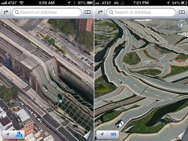 Apple iOS 6 Maps Fail Apple rischia un nuovo flop con Bing