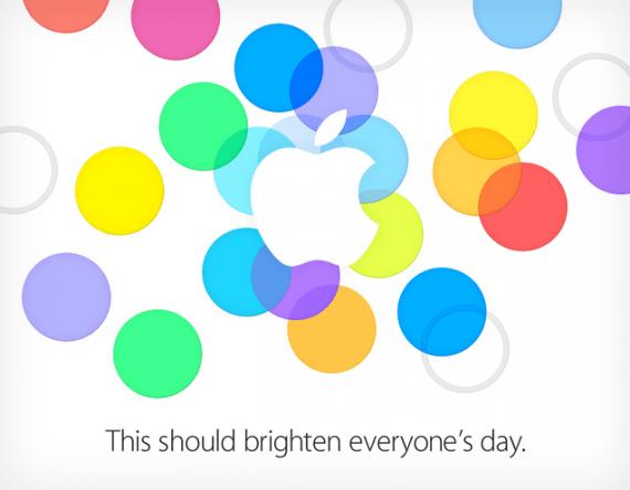 Evento Apple - 10 Settembre 2013