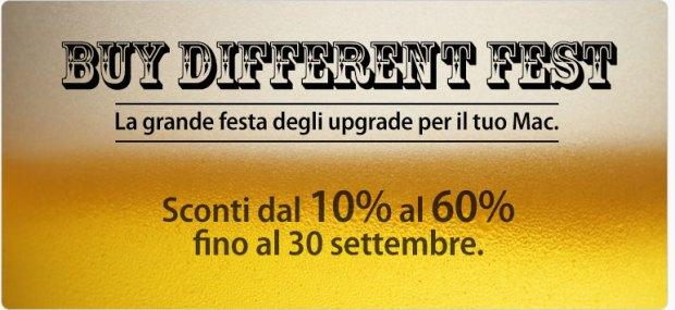 fest 620x285 BuyDifferent: ultime ore di sconti fino al 60% su RAM, SSD e accessori