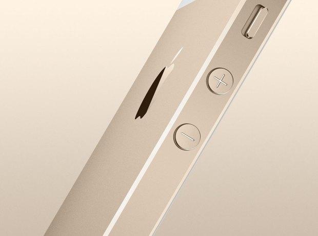 iphone 5 s lato 2 620x461 [Galleria] Ecco il nuovo iPhone 5s, guardiamo da vicino il gioiellino presentato da Apple