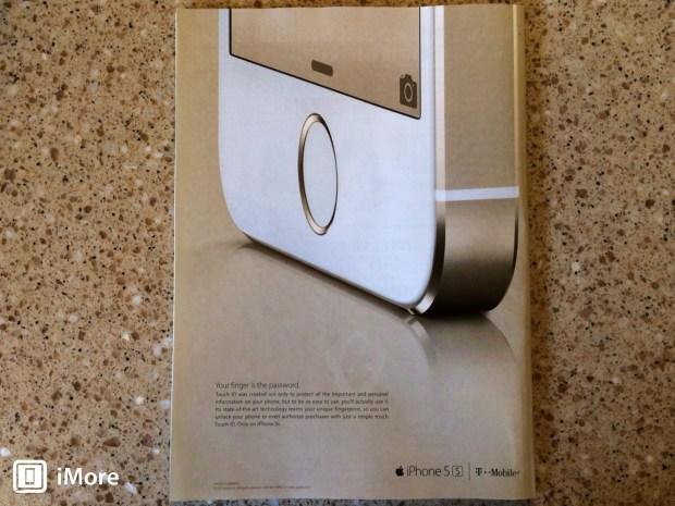 Pubblicità di iphone 5s sul new yorker 620x465 La prima pubblicità cartacea delliPhone 5s appare sulle riviste americane