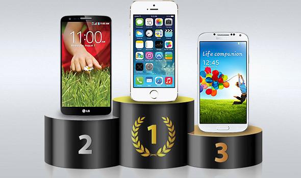 Test Velocità iPhone5s iPhone 5s è lo smartphone più veloce in commercio: stracciati Samsung Galaxy S4, HTC One e LG G2