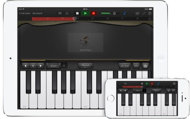 garageband screen 620x389 Maveriks, iWork e iLife: Disponibili gratuitamente