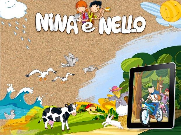 nina e nello 00 620x465 Nina e Nello, eco app per bambini