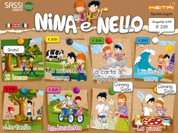 nina e nello 01 620x465 Nina e Nello, eco app per bambini