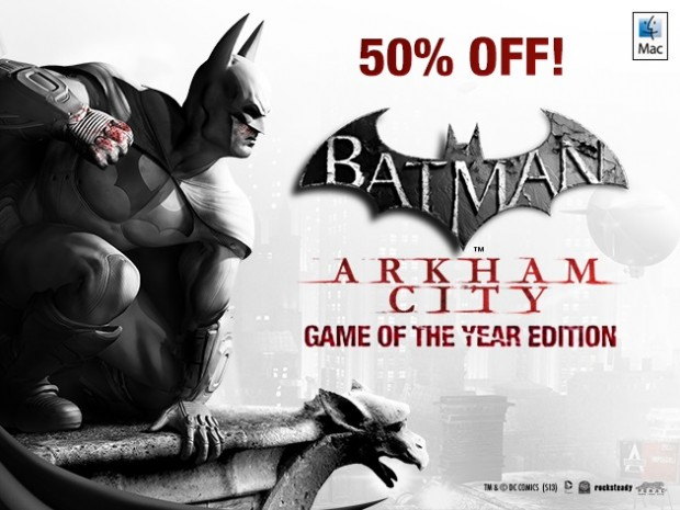 Batman Arkham City Game Of The Year Edition 620x465 Tante app per Mac in promozione da scaricare subito!
