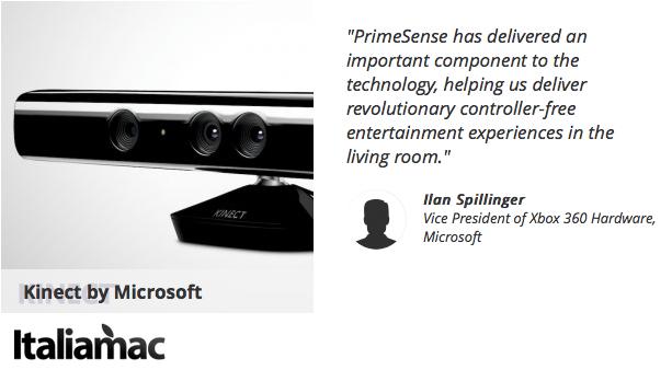 Kinect di Microsoft