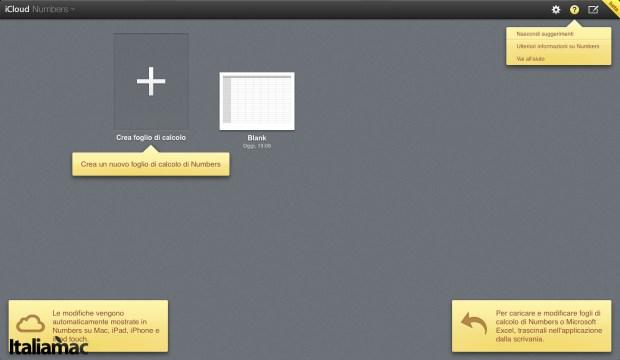 La nuova interfaccia di Numbers 620x360 iWork per iCloud aggiornato con nuovi strumenti per il lavoro condiviso
