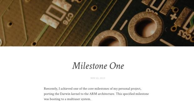 Milestone One 620x325 Un Hacker porta Darwin su Nokia N900