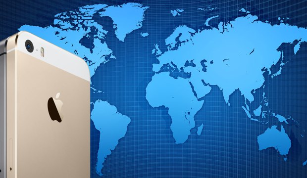 iphone 5c mappa mondo 620x360 Qual è il prezzo reale di un iPhone 5s rispetto al PIL delle varie nazioni?