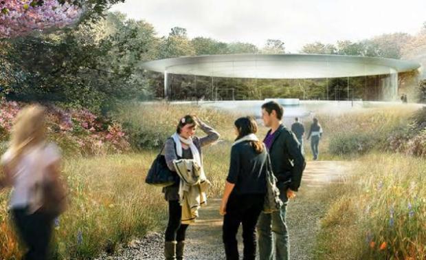progetto del nuovo campus apple 620x378 Apple pronta al trasloco nel suo nuovo campus futuristico