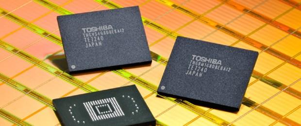 Chip di memoria toshiba 620x261 16GB? Non proprio. Ecco gli smartphone con più memoria libera