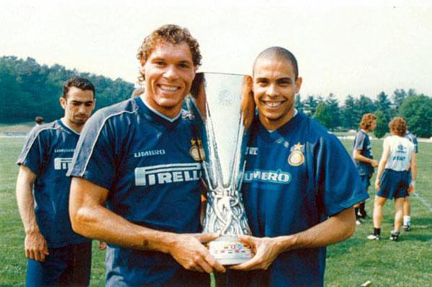 Ronaldo e Mauro Milanese