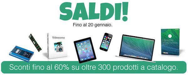 saldi2014 NL BuyDifferent lancia i Saldi su 300 prodotti: SSD, memorie RAM, iDevice usati e videocorsi