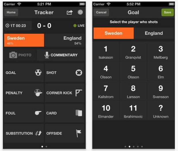 GoalShouter-screenshot