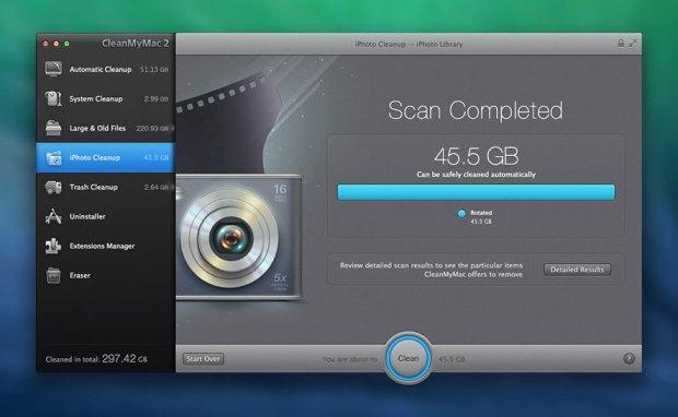 cleanmymac2b 620x382 Sconto speciale su CleanMyMac 2 per i lettori di Italiamac, per un Mac più veloce e pulito
