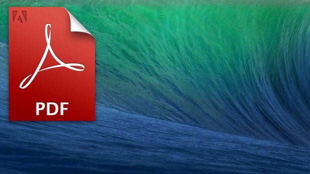 osx mavericks desktop background pdf 1024x576 Come cambiare il lettore PDF di default su Mac