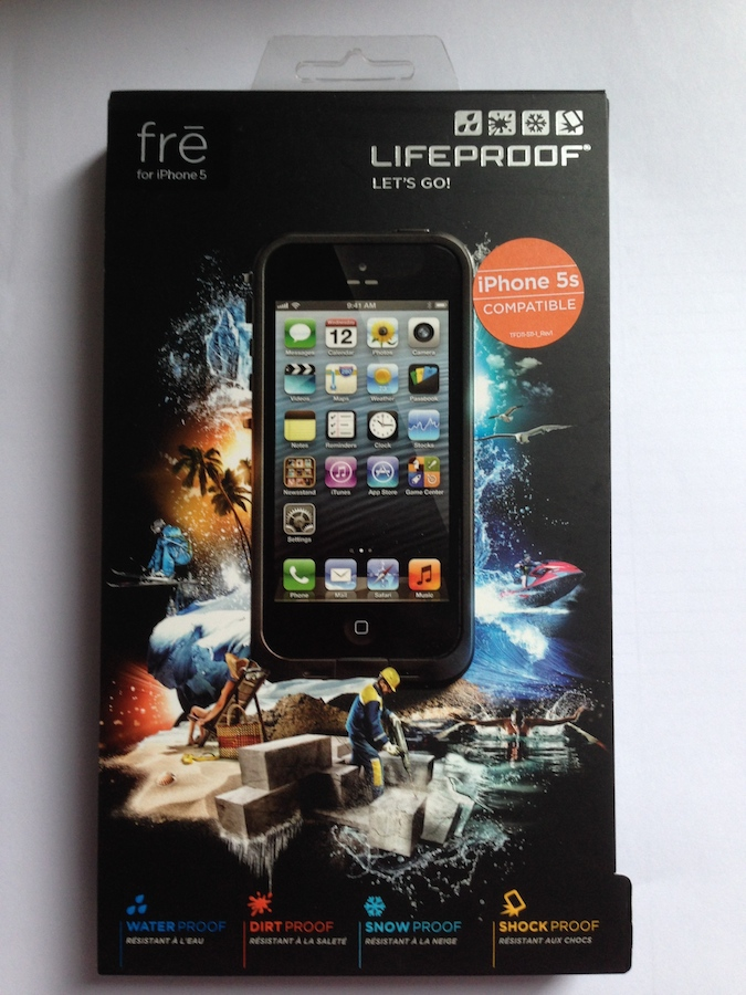 IMG 1799 LifeProof Frē: cover per iPhone a prova di... vita