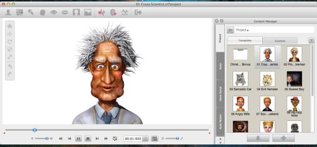 Schermata 2014 04 10 alle 15.14.36 620x287 CrazyTalk 7: animiamo immagini, personaggi e volti con il Mac