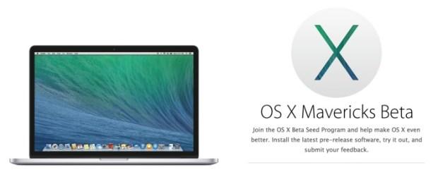 os x mavericks beta seed program1 620x241 OS X Beta disponibili per tutti da qualche giorno