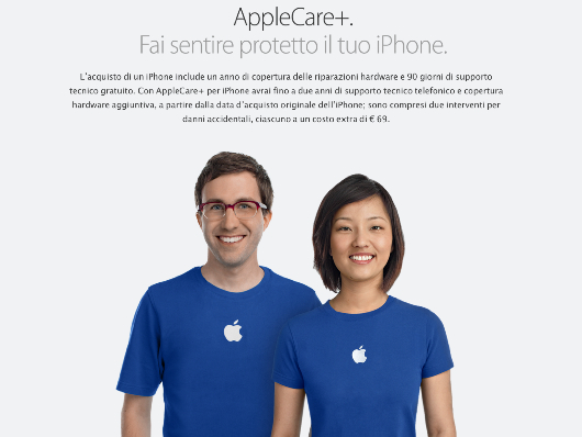 AppleCare Apple: 36 mesi per Apple Care +